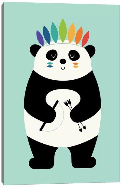 Be Brave Panda Canvas Art Print