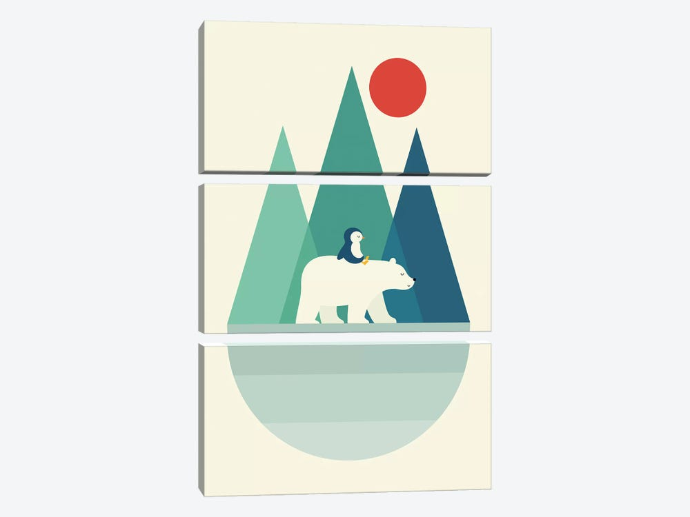 Bear You by Andy Westface 3-piece Art Print