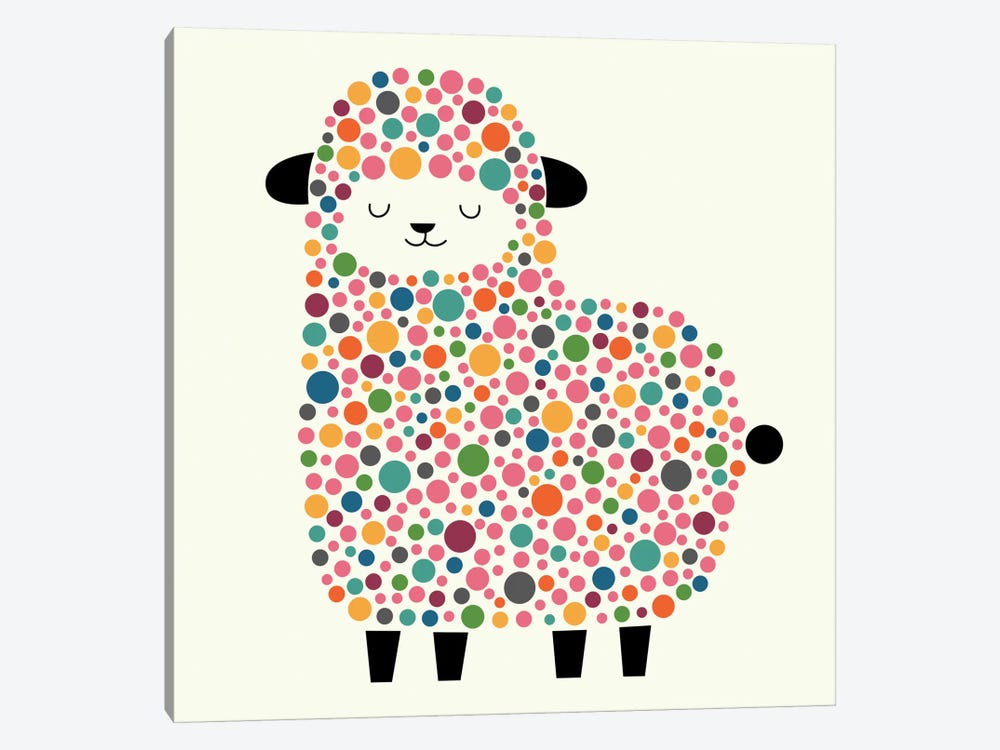 Bubble Sheep 1-piece Canvas Artwork