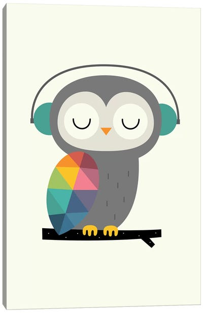 Owl Time Canvas Art Print