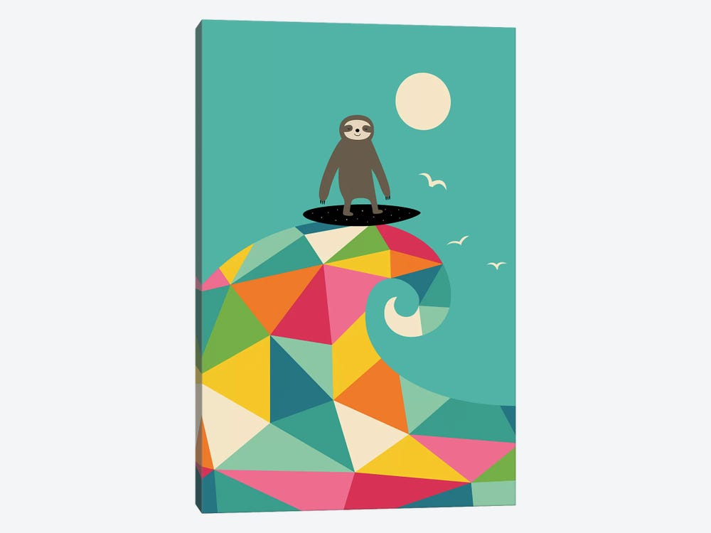 Surfs Up by Andy Westface 1-piece Canvas Art Print