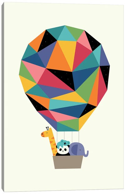 Fly High Together Canvas Art Print