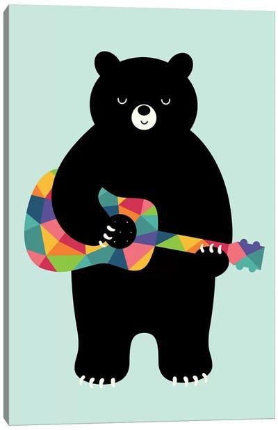 Happy Song Canvas Art Print