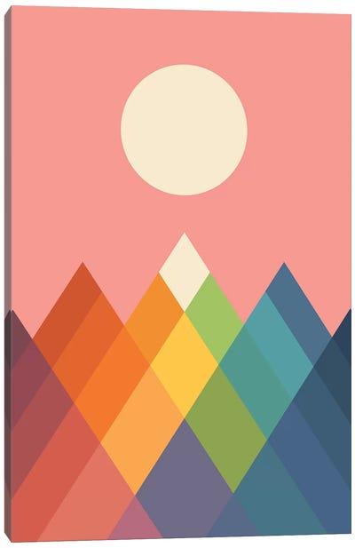 Rainbow Peak Canvas Art Print