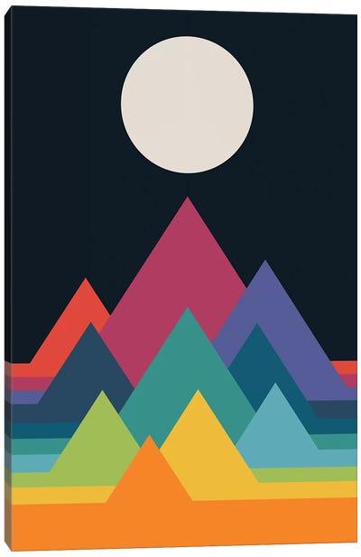 Whimsical Mountains Canvas Art Print
