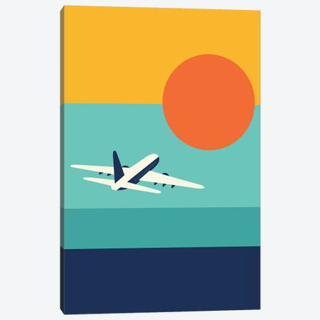 Fly Away Canvas Print #AWE71} by Andy Westface Canvas Art Print