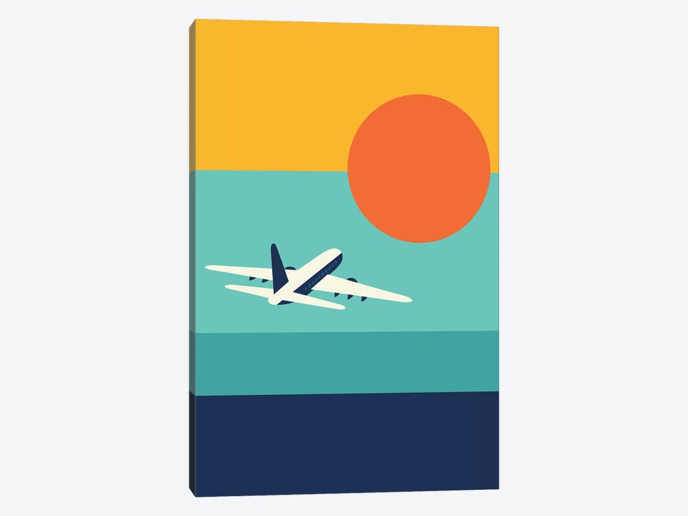 Fly Away by Andy Westface 1-piece Canvas Wall Art