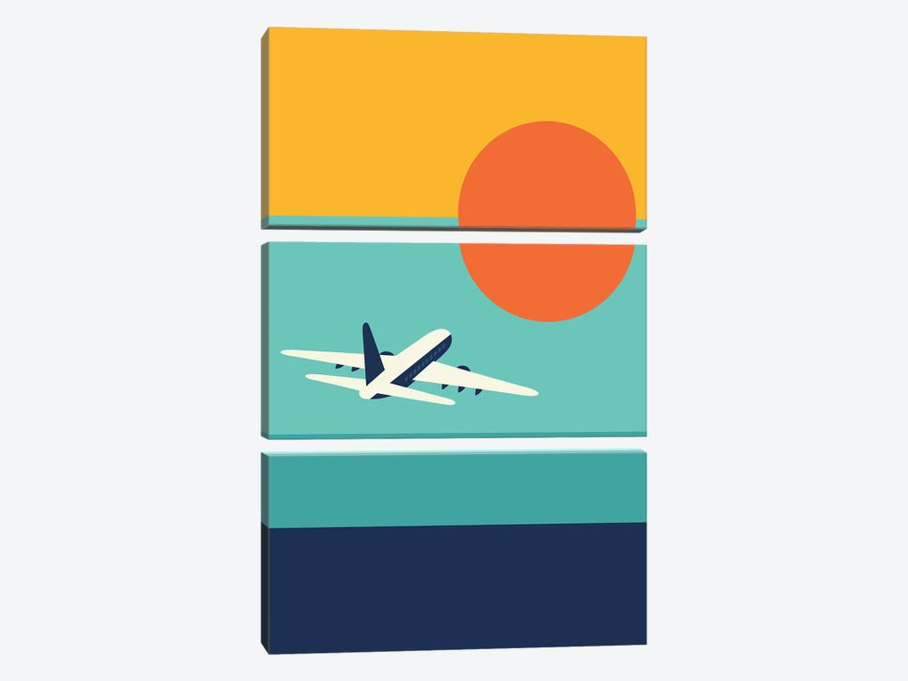 Fly Away by Andy Westface 3-piece Canvas Artwork