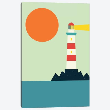 Light House Canvas Print #AWE72} by Andy Westface Canvas Print