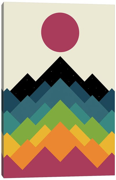 Life Is A Mountain Canvas Art Print