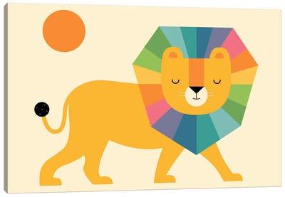 Lion Shine Canvas Art Print
