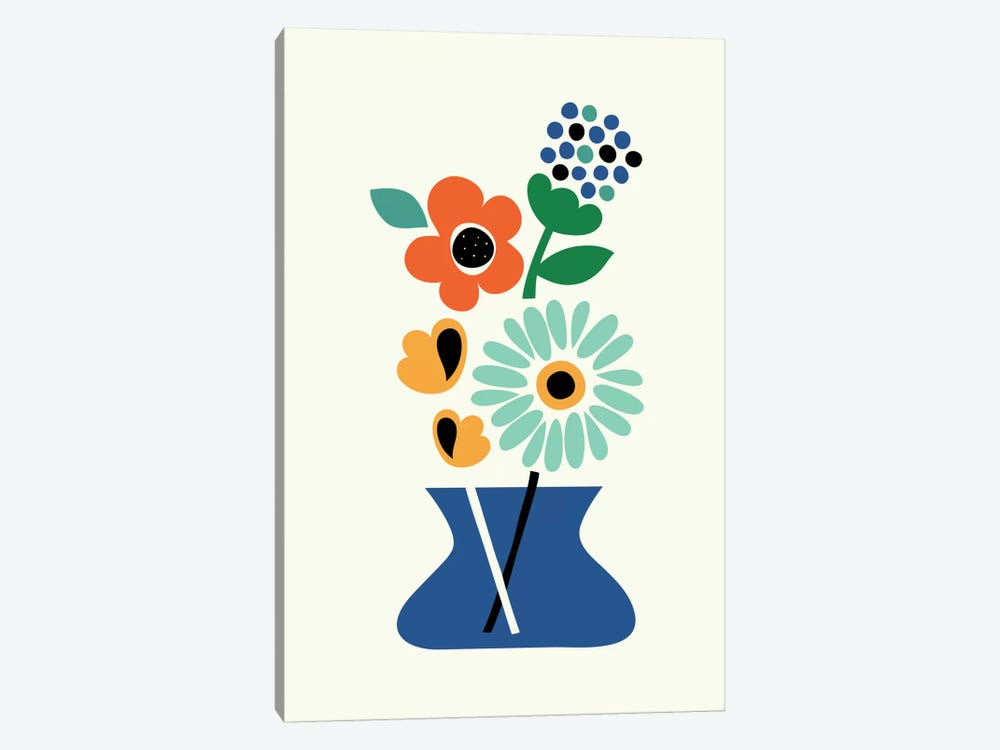 Floral Time by Andy Westface 1-piece Canvas Art