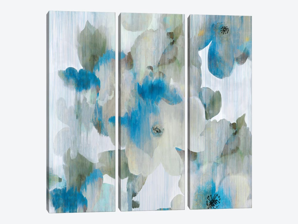 Forget Me Not I by Aimee Wilson 3-piece Canvas Print