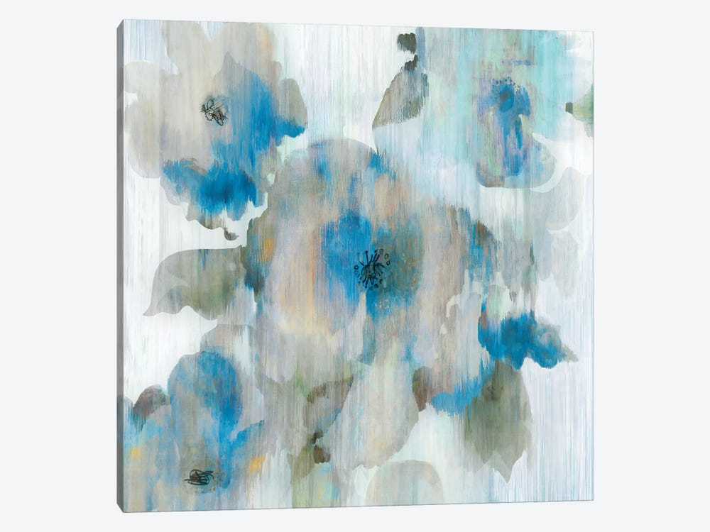 Forget Me Not II 1-piece Canvas Artwork