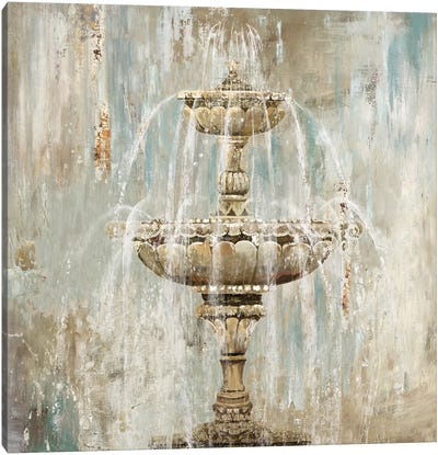 Fountain Canvas Art Print
