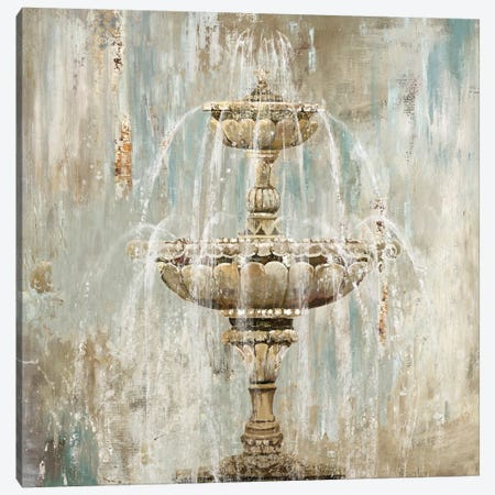 Fountain Canvas Print #AWI107} by Aimee Wilson Canvas Art