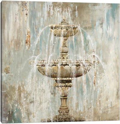 Fountain Canvas Art Print