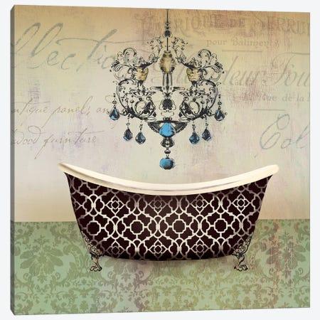 French Vintage Bath I Canvas Print #AWI108} by Aimee Wilson Canvas Art Print