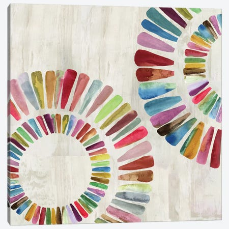 Fun Rings I Canvas Print #AWI110} by Aimee Wilson Canvas Art