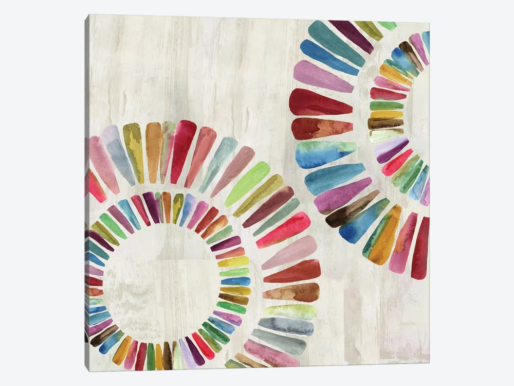Fun Rings I 1-piece Canvas Print