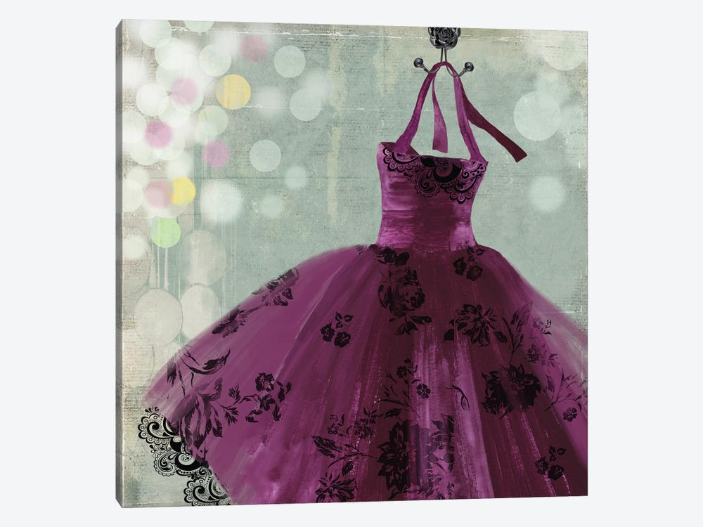 Fuschia Dress I by Aimee Wilson 1-piece Canvas Print