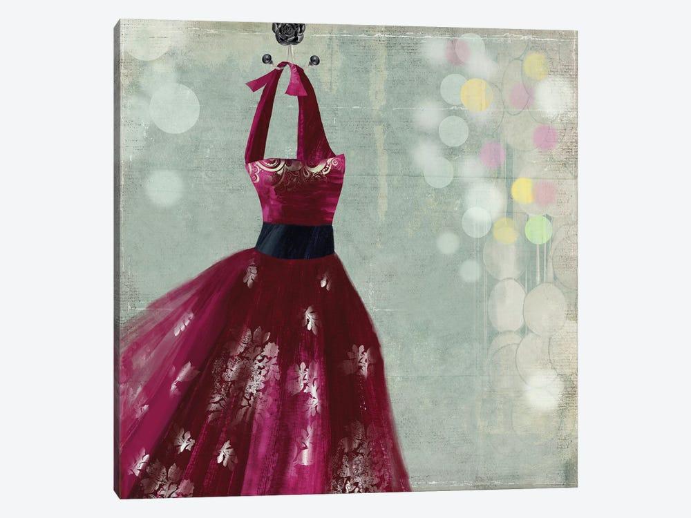 Fuschia Dress II by Aimee Wilson 1-piece Canvas Wall Art