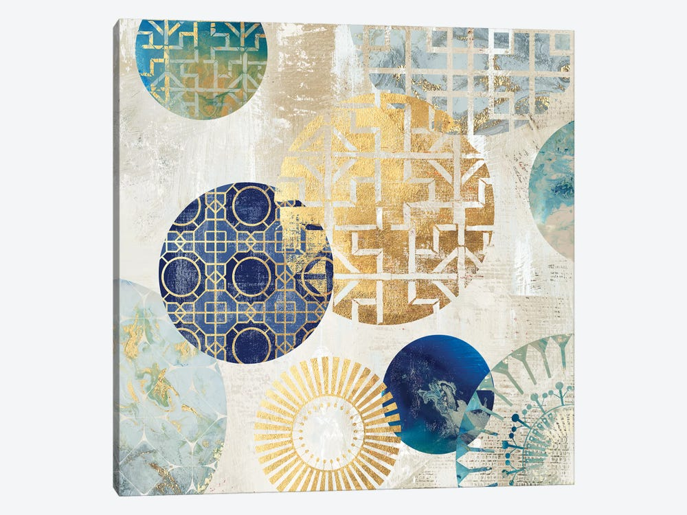 Gold Rings I by Aimee Wilson 1-piece Canvas Art Print
