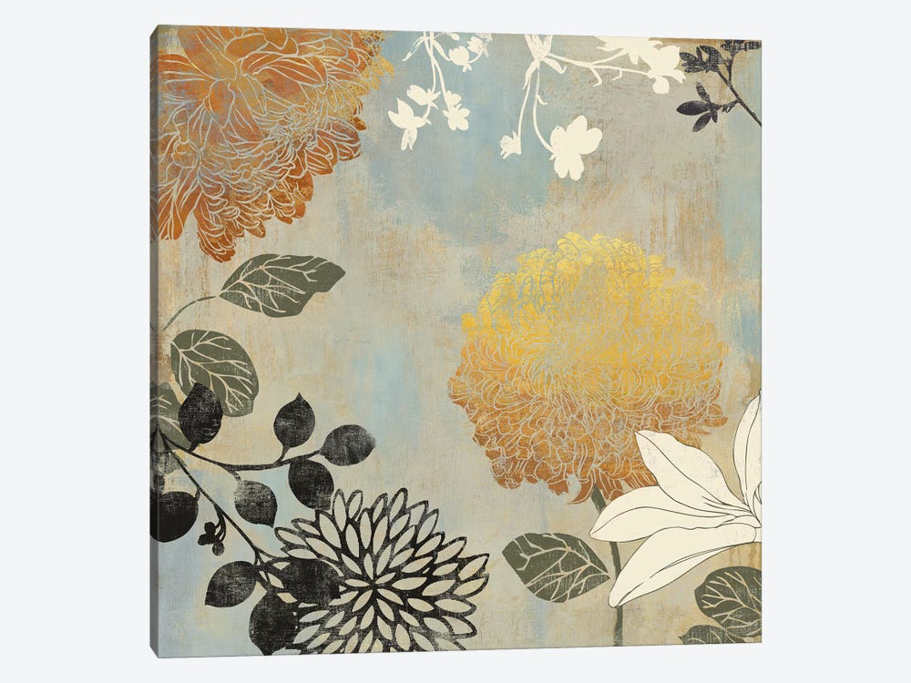 Grace Flowers II by Aimee Wilson 1-piece Canvas Artwork