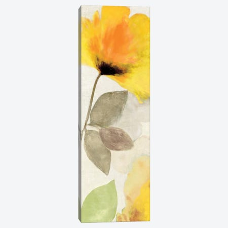 Happy Florals I Canvas Print #AWI136} by Aimee Wilson Art Print