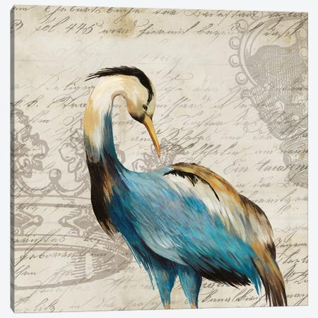 Heron I Canvas Print #AWI138} by Aimee Wilson Canvas Art