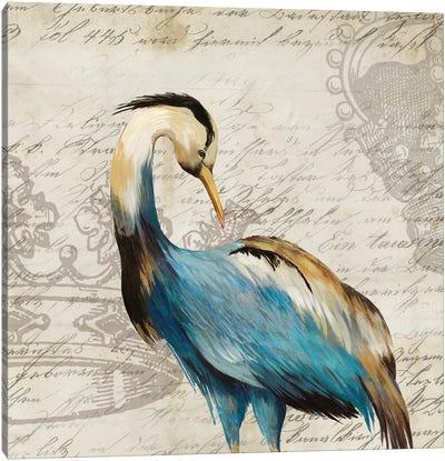 Heron I Canvas Art Print