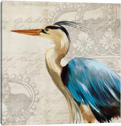 Heron II Canvas Art Print