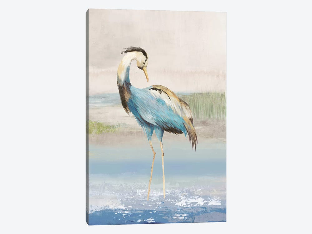 Heron On The Beach I by Aimee Wilson 1-piece Canvas Wall Art