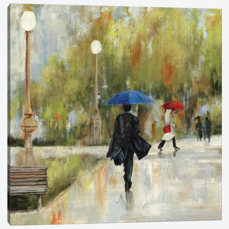 I Will Be There I, Square Canvas Print #AWI145} by Aimee Wilson Canvas Artwork