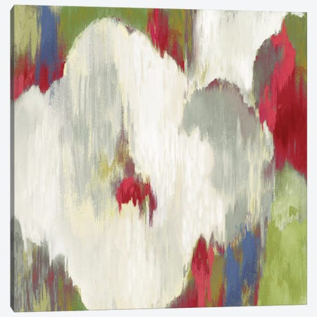 Ikat Avenue I Canvas Print #AWI147} by Aimee Wilson Canvas Artwork