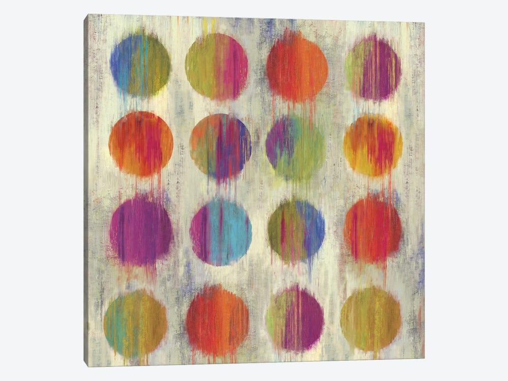 Ikat Dots I by Aimee Wilson 1-piece Canvas Art Print
