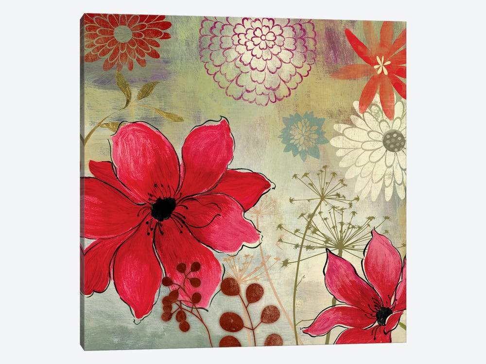 In The Garden I by Aimee Wilson 1-piece Canvas Print