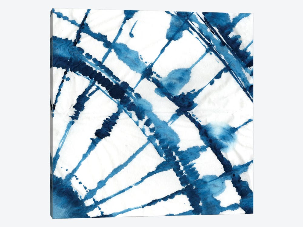 Indigo Dye II by Aimee Wilson 1-piece Canvas Artwork