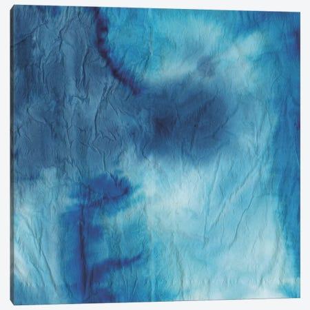 Indigo Dye VIII Canvas Print #AWI165} by Aimee Wilson Canvas Wall Art