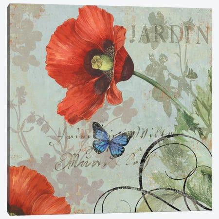 Jardin Canvas Print #AWI167} by Aimee Wilson Canvas Art