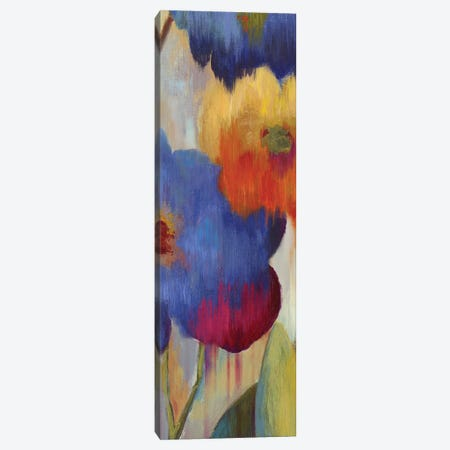 Jardin Ikat I Canvas Print #AWI168} by Aimee Wilson Canvas Print