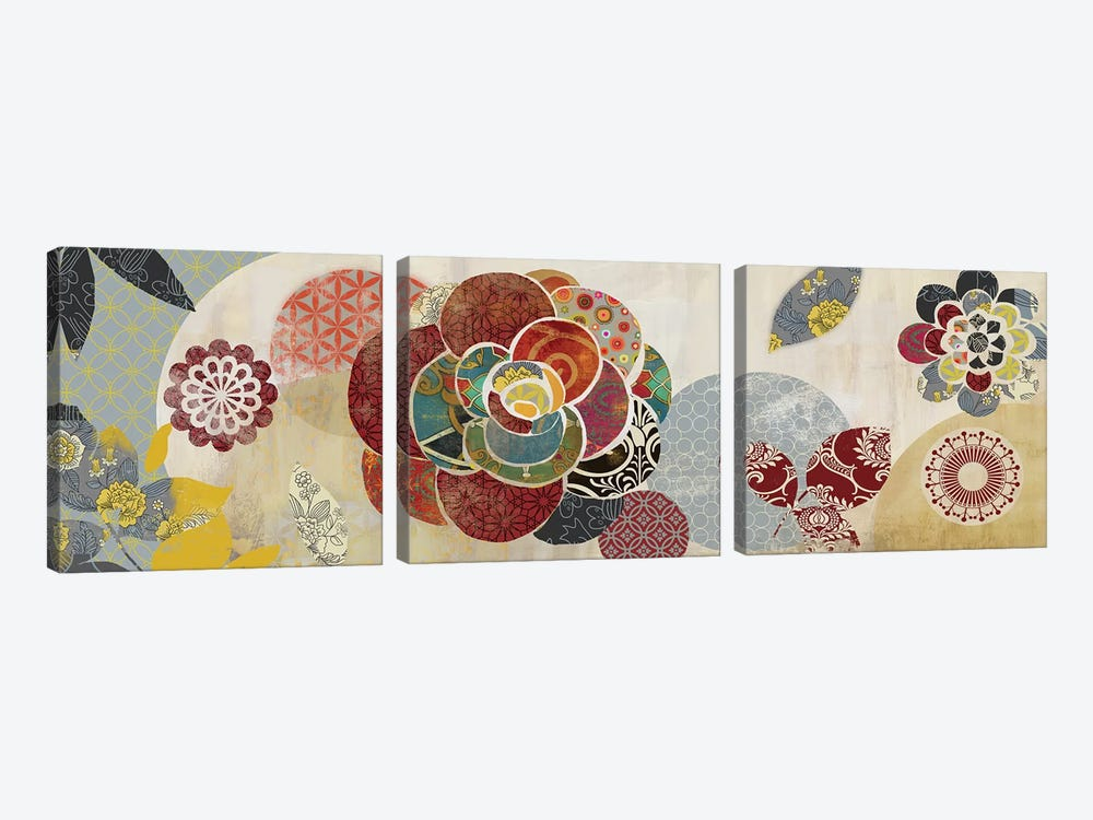 Arabesque II by Aimee Wilson 3-piece Canvas Art Print