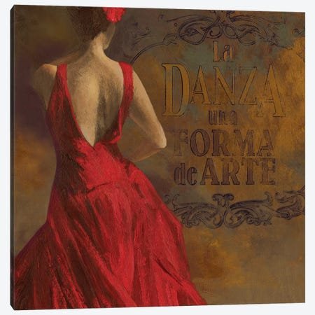 La Dance I Canvas Print #AWI171} by Aimee Wilson Canvas Artwork