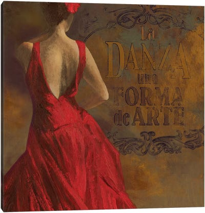 La Dance I Canvas Art Print