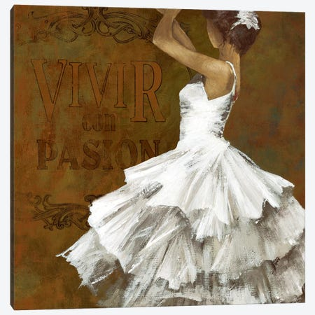 La Dance II Canvas Print #AWI172} by Aimee Wilson Canvas Wall Art