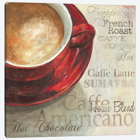 Latte Canvas Print #AWI175} by Aimee Wilson Canvas Art Print