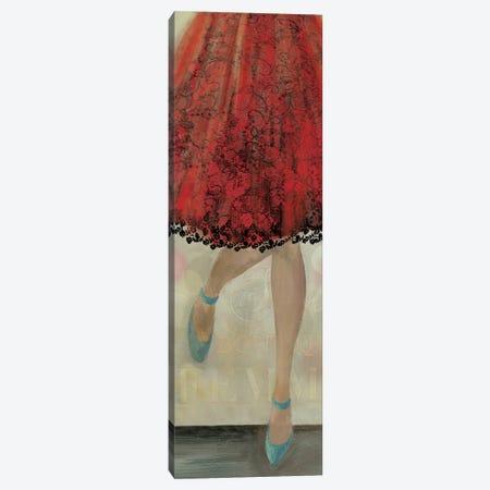 Let's Dance II Canvas Print #AWI177} by Aimee Wilson Art Print