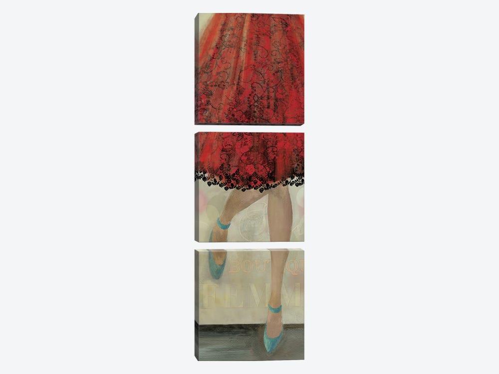 Let's Dance II by Aimee Wilson 3-piece Canvas Wall Art