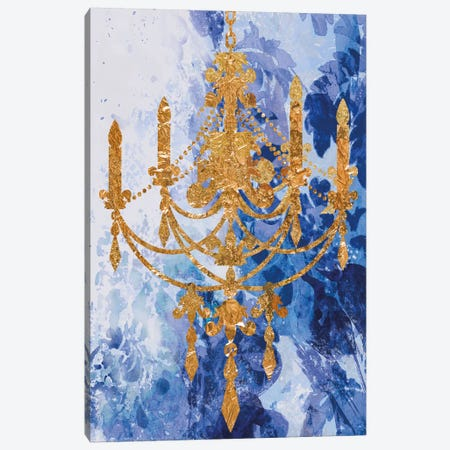 Louis Chandelier II Canvas Print #AWI179} by Aimee Wilson Canvas Artwork