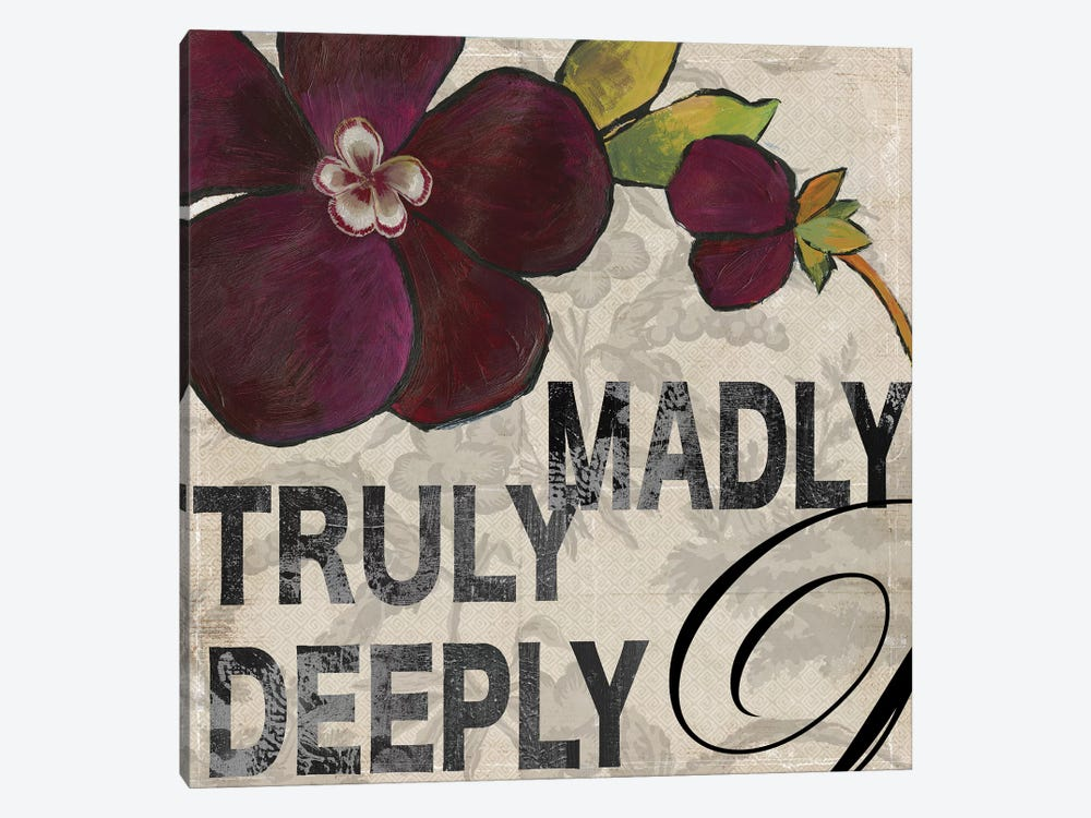 Madly by Aimee Wilson 1-piece Canvas Art Print